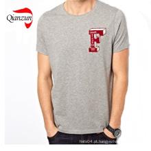 T-shirt de algodão da impressão digital