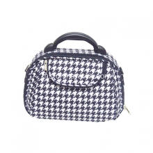 Houndstooth Travel Bag Kosmetik