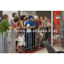 barrière de contrôle des foules / barrière d'événement (style néo-zélandais)