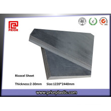 Excellent Machinability Ricocel Sheet with Black Color