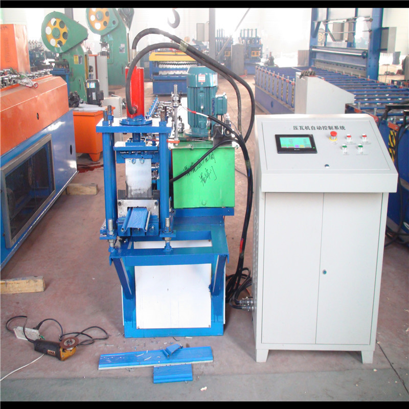 Colored Steel Forming Machine For Roller Shutter Slat