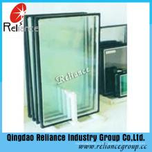 Запечатанное стекло / пустотелое стекло / изолированное стекло / 5 мм серый + 6A / 9A / 12A + 5 мм Clear Low-E /