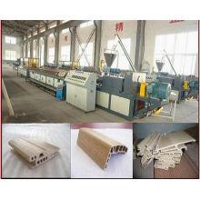 Fabricante de madera de la máquina del plástico de PP / PE / PVC