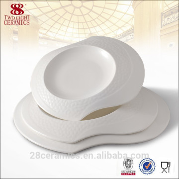 Special design ceramic plate , christmas dinnerware set, bone china plate