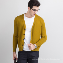 2017 new design hot sale knit cashmere wool sweater men zip