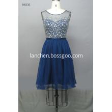 Women's Sexy Short Sleeve Chiffon Dress