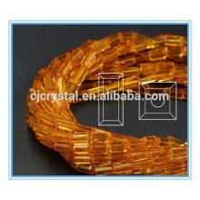 Grânulos de vidro retângulo em granel contas de vidro china