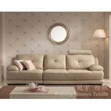Tampas do sofá da matéria têxtil da casa da camurça do poliéster para mobílias