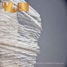 corda de enchimento do cabo dos pp da tenacidade alta, corda preta do enchimento do cabo dos pp