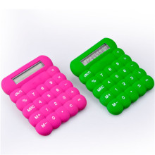 8 Digits Handheld Pocket Size Silicone Calculator