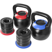 Peso Kettlebell de fitness intercambiable