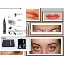Top quality permanent makeup eyebrow / eyeliner/lip tattoo machine kit