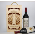 Custom cheap wooden gift wine boxes