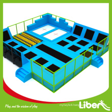 ASTM safety indoor commercial trampoline park for business plan