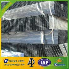 Q235 soudé tube en acier carré en acier au carbone 70x70