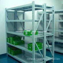 Adjustable Medium Duty Shelving with Metal Panel