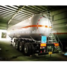 60cbm Lpg réservoir remorque / réservoir remorque, remorque de réservoir liquide, LPG gaz / propane réservoir de transport semi-remorque / LPG LNG réservoir semi-remorque