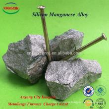 Varias especificaciones Ferro silicio manganeso Femn64si18 aleación China proveedor