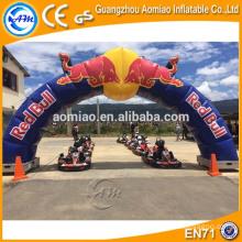 Arco inflable barato para la venta que hace publicidad del final inflable / del arco de la entrada para la venta
