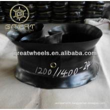 Inner tube and 1200-24 mat tire