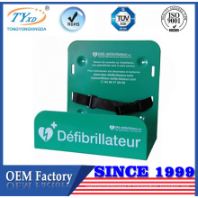 New design metal fabrication stamped steel bracket for cardiac defibrillator