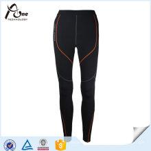Mulheres Recuperação Plain Compression Tights Custom Active Wear
