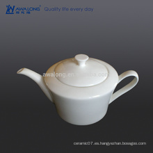 Puro, blanco, té, pote, árabe, estilo, hueso, China, bebida, pote