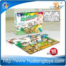 2015 Vente en gros Enfants jouent éducation graffiti puzzle, peinture jigsa puzzle jouets H162202
