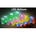 LED Licht blinkende Ballon bunte Ballon