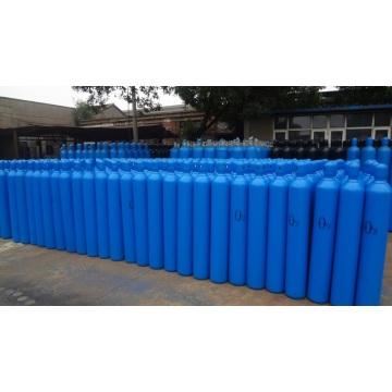 40 liter Volume 150 Bars Industrial Oxygen Cylinder