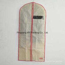 Nonwoven See durch Non-Toxic Suit Cover Bekleidungs-Tasche mit Reißverschluss für Promotion