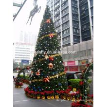 Gigante ao ar livre Comercial iluminado árvore de natal casamento xmas decoração