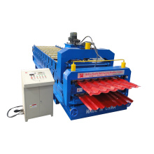 Máquina formadora de rollos de doble capa de azulejos esmaltados