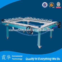 90t-48 polyester silk screen printing machine
