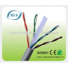 23AWG Cable de comunicación UTP cat6 TV