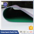 Matière première organique de PVC et 100% pur PVC usine de plancher de sport usine