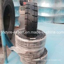 Empilhadeira sólida pneu 3.50-5 Industral pneumático com melhores preços, pneu OTR 350-5 com garantia