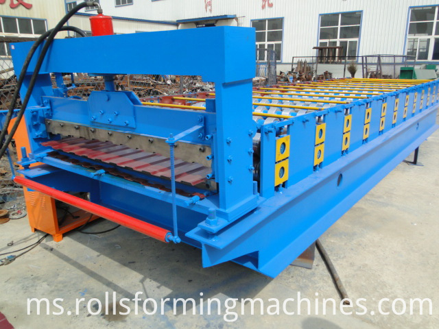 C8 Russia Roll Forming Machine