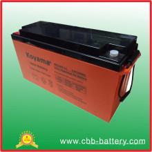 Bateria solar do ciclo 12V150ah profundo para o sistema das energias solares