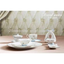 Vaisselle de vaisselle d'hôtel et de restaurant chic vaisselle en porcelaine