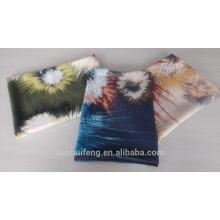 Foulard / châle en laine mercerisée imprimé feu d'artifice de haute qualité