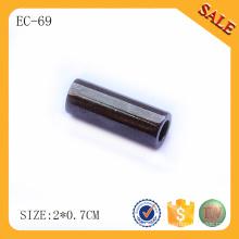 EC69 Gun metal cord end clip and stopper for handbags rope