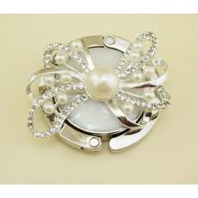 Perle runder Faltbarer Handtaschenhaken