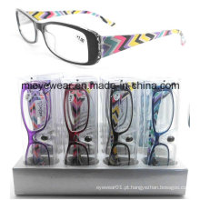 Senhoras óculos de leitura com display (dpr009)