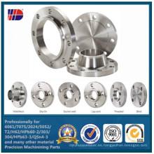 CNC de alta calidad modificado para requisitos particulares que trabaja a máquina el reborde forjado del acero inoxidable