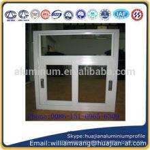 China de alta calidad y el perfil de aluminio de precio más bajo para las ventanas corredizas