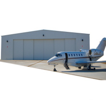 Low Cost Maintenance High Quality Flexible Customized Design Prefab Steel Frame Structural Aircraft Hangar