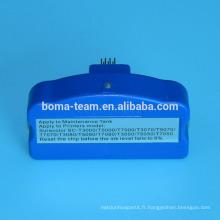 T619300 puce resetter pour Epson SureColor T3000 T5000 T7000 réservoir de maintenance de l'imprimante