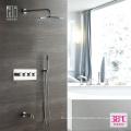 HIDEEP Bathroom Shower Thermostatic Rain Shower Faucet Set