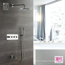 HIDEEP Ensemble de robinet de douche thermostatique à douche